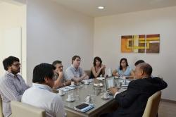 Autoridades de la Facultad y pares Universidad de Magdalena (Colombia)