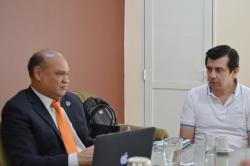 Autoridades de Humanidades y y pares de la Universidad de Magdalena (Colombia)_5