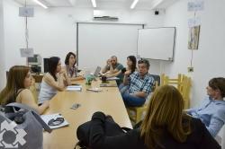 El Equipo Socio Jurídico en Derechos Humanos se reunió con autoridades judiciales
