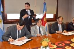 Humanidades firmó un convenio con el Superior Tribunal   de Justicia