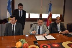 Humanidades firmó un convenio con el Superior Tribunal   de Justicia _11