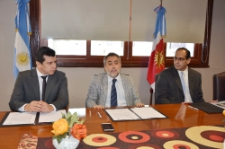 Humanidades firmó un convenio con el Superior Tribunal   de Justicia _2