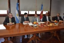 Humanidades firmó un convenio con el Superior Tribunal   de Justicia _7