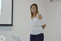 NADIA PATRICIA HOYOS defendió su tesis final de grado