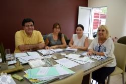 Reunión con la Secretaría de Agricultura Familiar