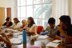 Reunión de FAUATS en la Facultad