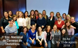 Reunión Nacional de Lic. en Obstetricia